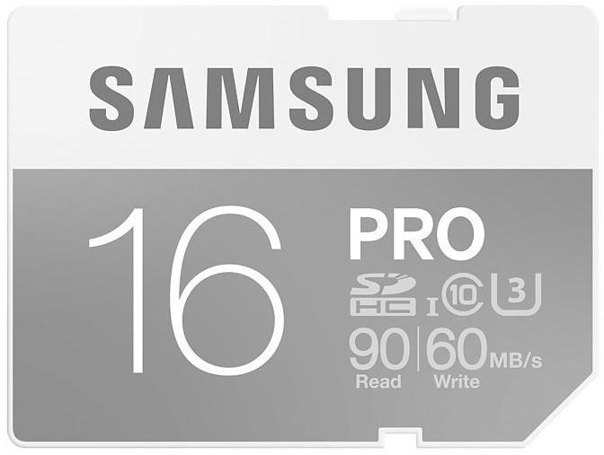 Samsung SDHC PRO 16GB UHS-I U3