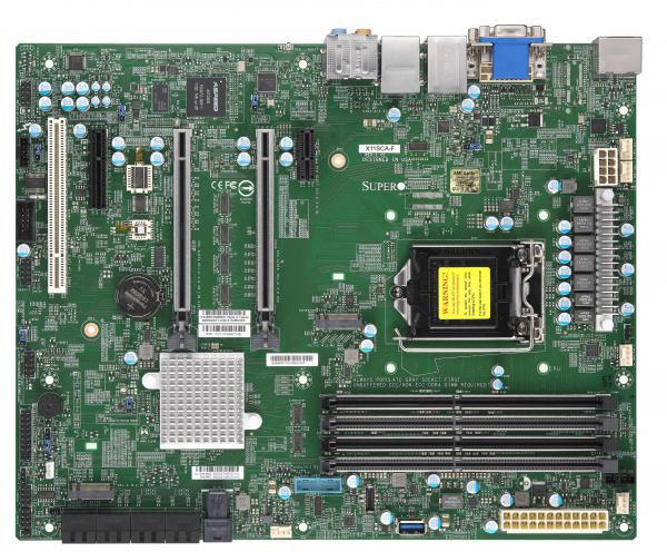SuperMicro MBD-X11SCA-F-O - Intel C246