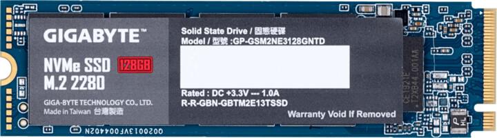GIGABYTE SSD, M.2 - 128GB