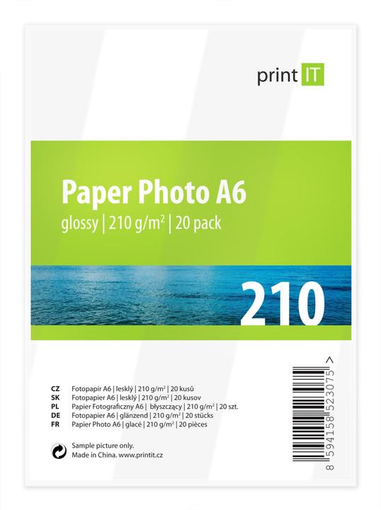 PRINT IT Paper Photo A6 210 g/m2 Glossy 20ks