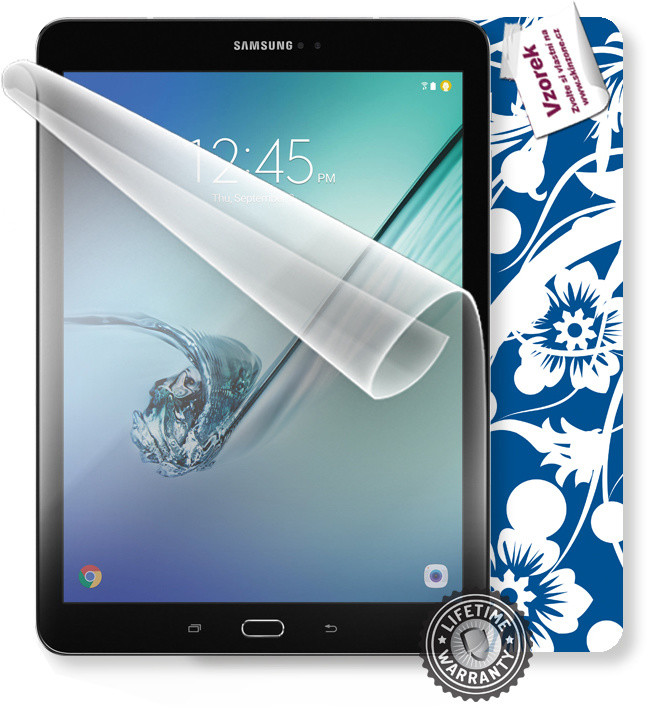 ScreenShield fólie na displej + skin voucher (vč. popl. za dopr.) pro Samsung T825 Galaxy Tab S3 9.7