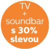 Soundbar se slevou 30%! Přidej ho v dalším kroku košíku