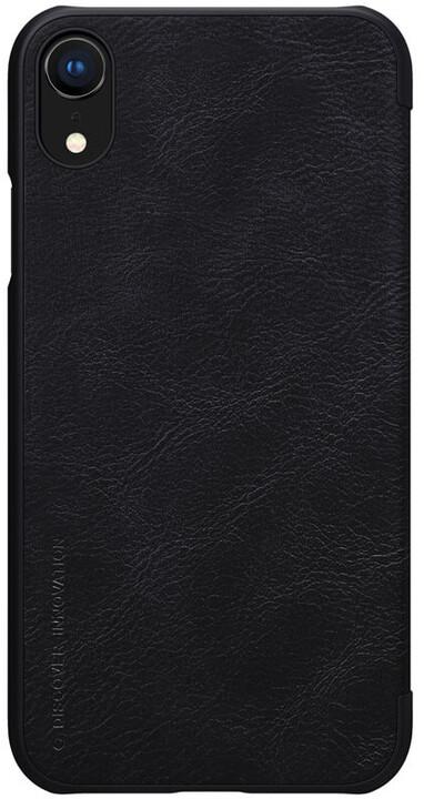 Nillkin Qin Book pouzdro pro iPhone Xr, černý