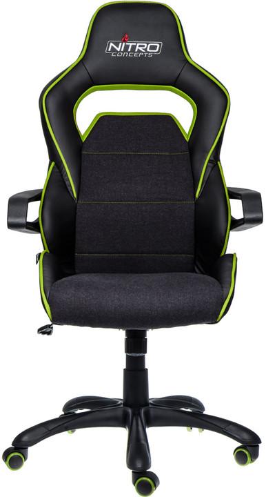 Nitro Concepts E220 Evo, černá/zelená