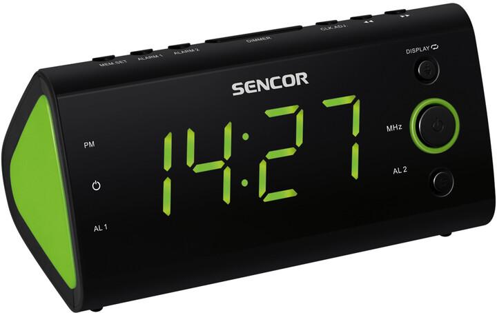 Sencor SRC 170 GN, radiobudík