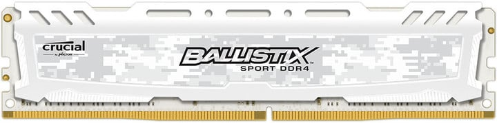 Crucial Ballistix Sport LT White 4GB DDR4 2400