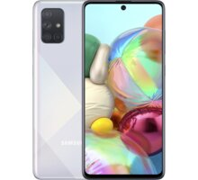 Samsung Galaxy A71, 6GB/128GB, Silver - Použité zboží