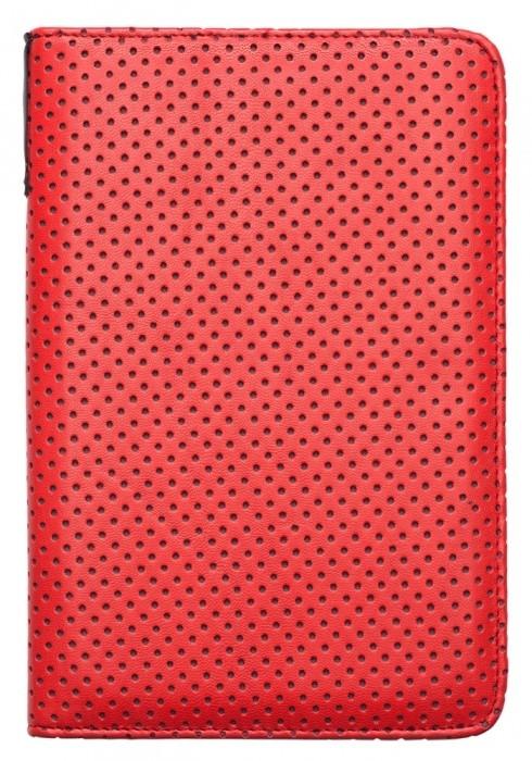 PocketBook pouzdro pro 614/623/624/626, Dots, červená