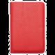 PocketBook pouzdro pro 640/641/625/631/615/614/623/624/626, Dots, červená