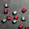 HyperX FPS & MOBA Gaming Keycaps, Cherry MX, titanová