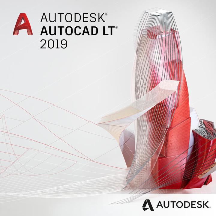 Autodesk AutoCAD LT 2019 - Commercial - nový uživatel na 2 roky