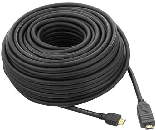 PremiumCord HDMI High Speed with Ether. kabel se zesilovačem, 10m, černý