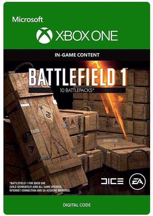 Battlefield 1 - Battlepack X10 (Xbox ONE) - elektronicky