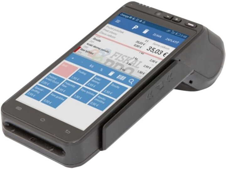 """FiskalPRO A8, 5,5"""", 4G LTE, BT, Wi-Fi, Android"""