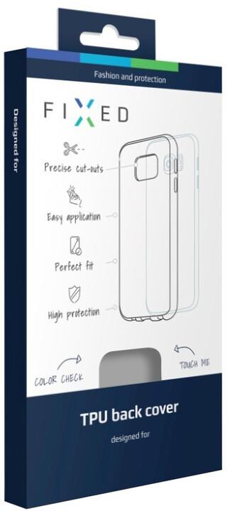 FIXED gelové pouzdro pro Samsung Galaxy J7 (2016), bezbarvé