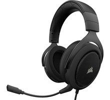 Corsair HS50 Stereo, černá