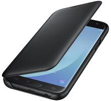 Samsung Galaxy J5 Flipové pouzdro, Wallet Cover, černé - EF-WJ530CBEGWW