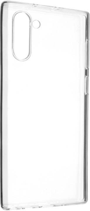 FIXED ultratenké TPU gelové pouzdro Skin pro Samsung Galaxy Note10, 0,6 mm, čiré