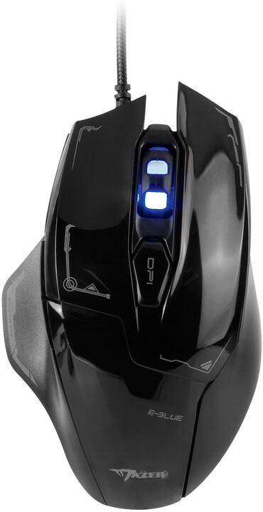 E-Blue Mazer, černá