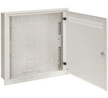 Solarix SOHO do zdi 2U,4U,11U, 550x550, RAL7035, rámeček k zazdění - 86000548