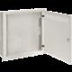 Solarix SOHO do zdi 2U,4U,11U, 550x550, RAL7035, rámeček k zazdění