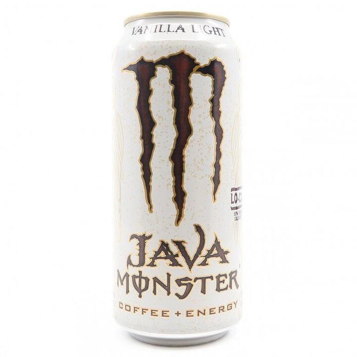 Monster Java Vanilla Light, energetický, 443 ml