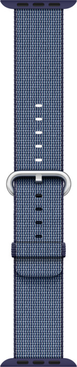 Apple watch náramek 42mm Midnight Blue Woven Nylon