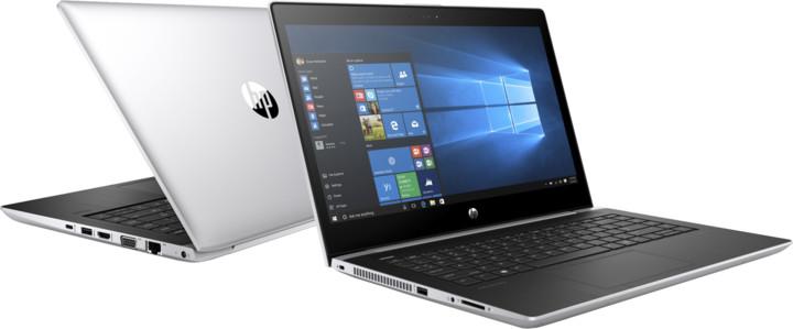 HP ProBook 440 G5, stříbrná