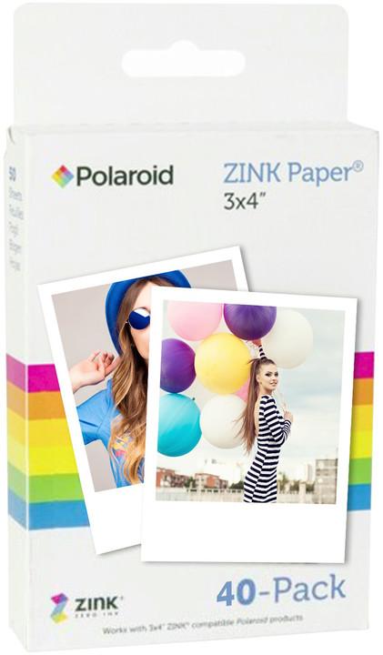 """Polaroid Zink instantní film 3x4"""", 40 fotografií"""