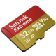 SanDisk Micro SDHC Extreme 32GB 100MB/s A1 UHS-I U3 V30 + SD adaptér