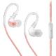 MEE audio X1, růžová/bílá  + Voucher až na 3 měsíce HBO GO jako dárek (max 1 ks na objednávku)