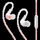 MEE audio X1, růžová/bílá