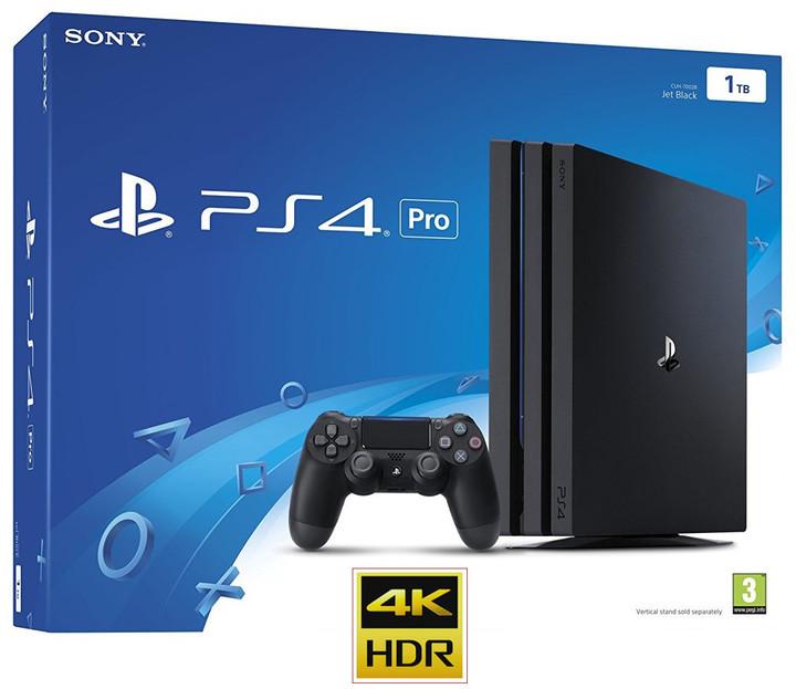 Konfigurovatelný PlayStation 4 Pro, Gamma chassis, černý