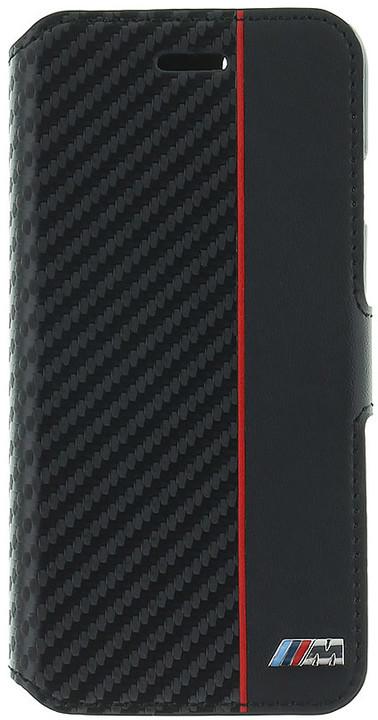 BMW M Collection pouzdro typu kniha pro iPhone 7/8, černé