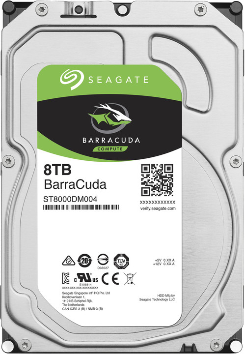 Seagate BarraCuda - 8TB