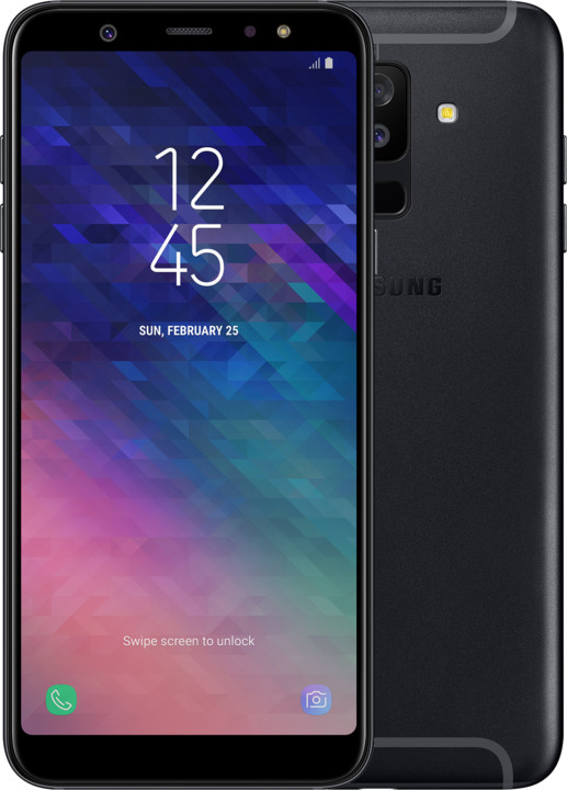 Samsung Galaxy A6+ (SM-A605), černá