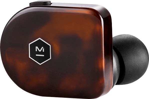 Master & Dynamic True Wireless Earphones MW07, Tortoise Shell