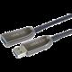 PremiumCord prodlužovací optický kabel USB-A 3.0, 20m, černá