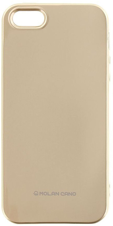 Molan Cano Jelly TPU Pouzdro pro Xiaomi Redmi Note 5A Prime, zlatá