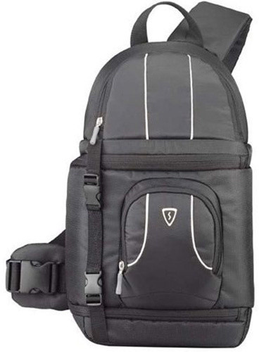 SUMDEX batoh na kameru/foto/příslušenství POC-484BK/ 29,2 x 44,5 x 17,1 cm/ nylon/ šedá