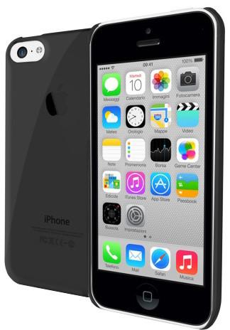 CELLY Gelskin pouzdro pro Apple iPhone 5C, černá