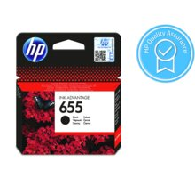 HP 655 black  + Fotopapír SAFEPRINT 190g/m2, A4, lesklý, 20 listů v hodnotě 79 Kč