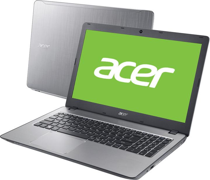 Acer Aspire F15 (F5-573-335F), stříbrná