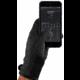 MUJJO Rukavice dvouvrstvé dotykové rukavice pro SmartPhone - velikost S - černé