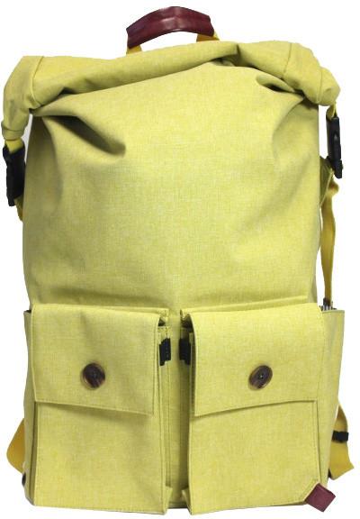 "PKG DRI Rolltop Backpack 15"" - světle zelený"
