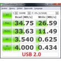 ADATA S107 32GB, červený