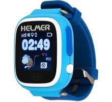 HELMER LK 703 dětské hodinky s GPS lokátorem, modré - LOKHEL1011