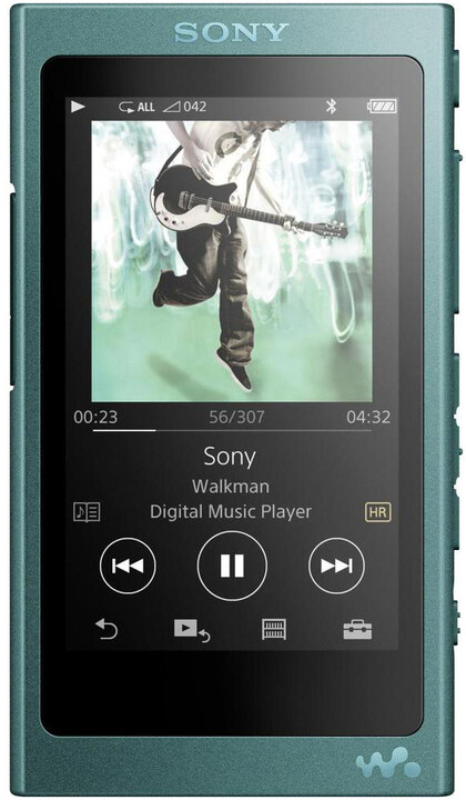 Sony NW-A35, 16GB, modrá