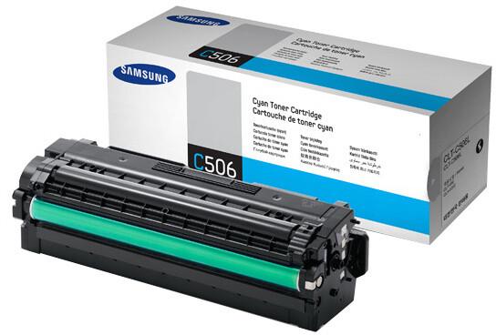 Samsung CLT-C506L, cyan