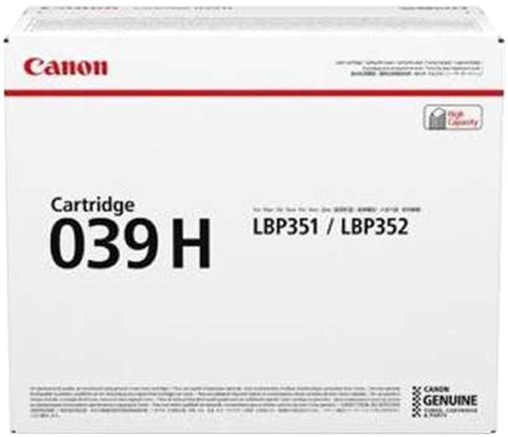 Canon CRG-039H, černá velká